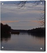 Potomac River At Whites Ferry Acrylic Print
