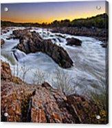 Potomac Rush Acrylic Print
