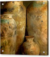 Pots Of Time Acrylic Print