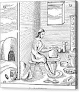 Potter, 1659 Acrylic Print