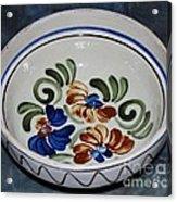 Pottery - Flower Pot Acrylic Print
