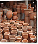 pottery in Madagascar Acrylic Print