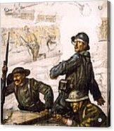 Pour La Victoire - W W 1 - 1918 Acrylic Print