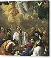 Poussin, Nicolas 1594-1665. Saint Acrylic Print