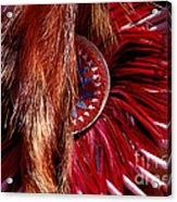 Pow-wow Costume Acrylic Print