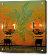 Powder Room Radio City Music Hall Acrylic Print
