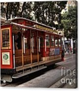 Powell And Market Cable Car Acrylic Print