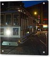 Powell And Market Trolley Acrylic Print
