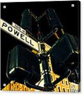 Powell Street Acrylic Print