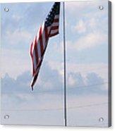 Power Flag Acrylic Print