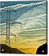 Power In The Sky Acrylic Print