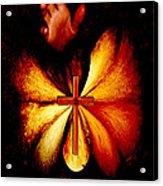 Power Of Prayer Acrylic Print