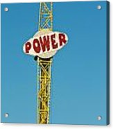 Power Acrylic Print