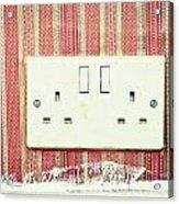 Power Socket Acrylic Print