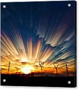 Power Source Acrylic Print by Matt Molloy