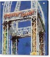 Power Tower Cedar Point Acrylic Print