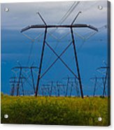 Power Towers Acrylic Print