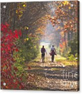 Power Walkers Acrylic Print