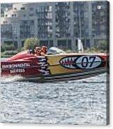 Powerboat 3 Acrylic Print
