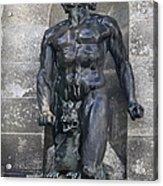 Powerscourt Fountain Sculpture Acrylic Print