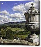 Powis Castle Garden Urn Acrylic Print