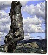 Powis Castle Statuary Acrylic Print