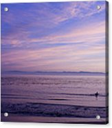 pr 241-Lavender Sunset Acrylic Print