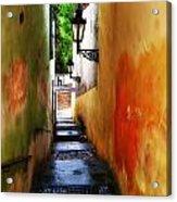 Prague - Street Acrylic Print