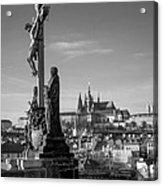 Prague Castle Acrylic Print