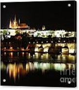 Prague Castle Acrylic Print