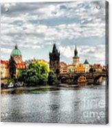 Prague Panorame Acrylic Print