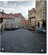 Prague Old Town Acrylic Print