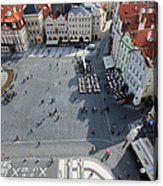 Prague Old Town Square Acrylic Print