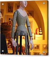 Prague Puppet Acrylic Print