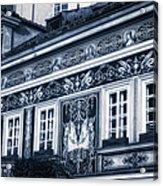 Prague Sgraffito Acrylic Print