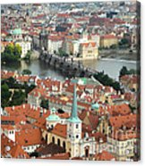Prague - View From Castle Tower - 03 Acrylic Print