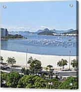 Botafogo Beach Acrylic Print