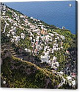 Praiano Village Acrylic Print
