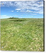 Prairie Breeze Acrylic Print