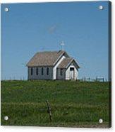Prairie Church Acrylic Print