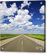 Prairie Highway Acrylic Print