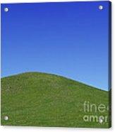Prairie Hill Acrylic Print