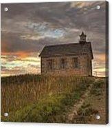 Prairie Schoolhouse Acrylic Print