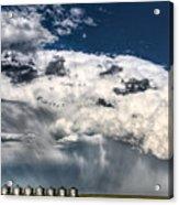 Prairie Storm Clouds Acrylic Print