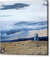 Prairie Storm Is Brewing Acrylic Print