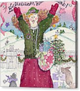 Praise The Lord Christmas Acrylic Print