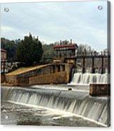 Prattville Dam Prattville Alabama Acrylic Print