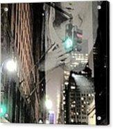 Prayer At 42nd Street Acrylic Print