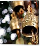 Prayer Bells Acrylic Print