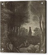 Prayer Of Jesus In The Garden Of Olives Acrylic Print